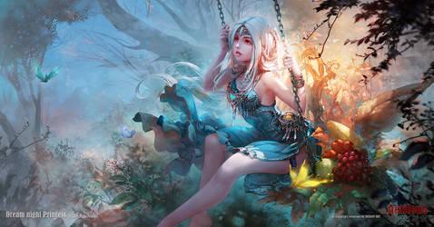 Dream night Princess by antilous