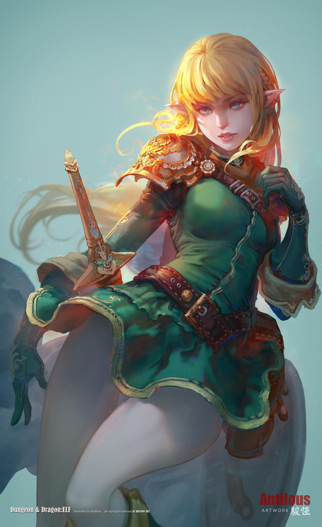 Dungeons and Dragons Elf
