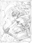 Dungeons n Dragons Elf Sketch09