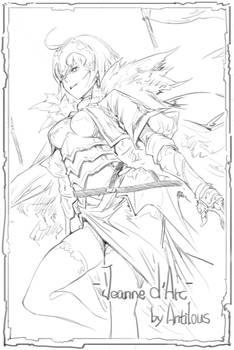 Jeanne d'Arc(Alter) sketch