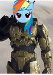 Rainbow Dash is the Master Chief