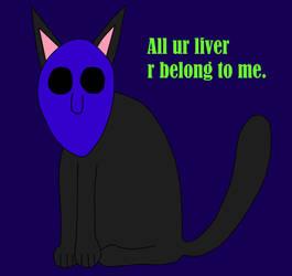 Eyeless Jack Cat by Mcrfan343