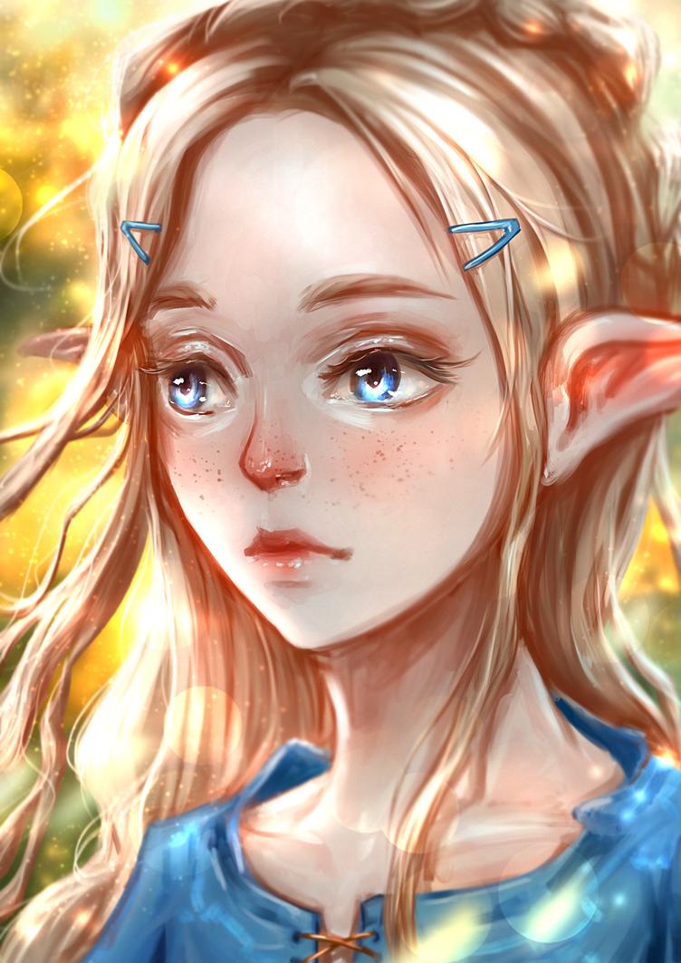 [BotW] Zelda by b1tterRabbit