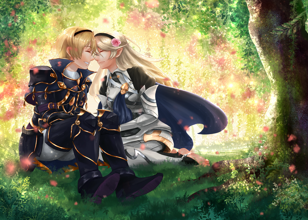 [FE:F] Leo and Corrin [Collab] by b1tterRabbit