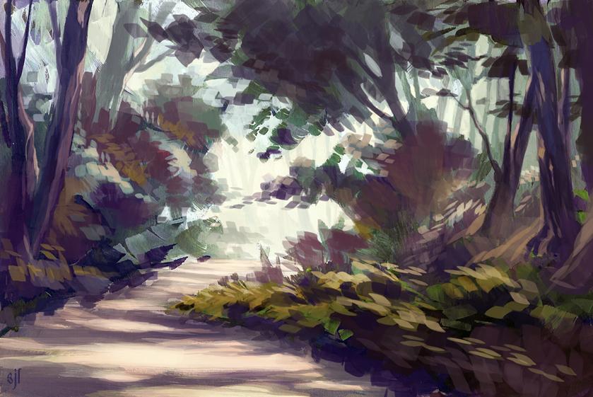 Arboretum 4 by paper-hero