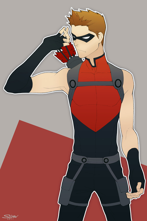 Young Justice Red Arrow by paper-hero