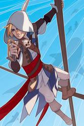 Assassins Creed Black Flag: Edward Kenway by paper-hero