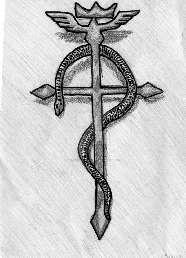 Fma Alchemist Symbol By Asadistghoulsart On Deviantart