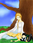 Old times, nappy time by ASadistGhoulsArt