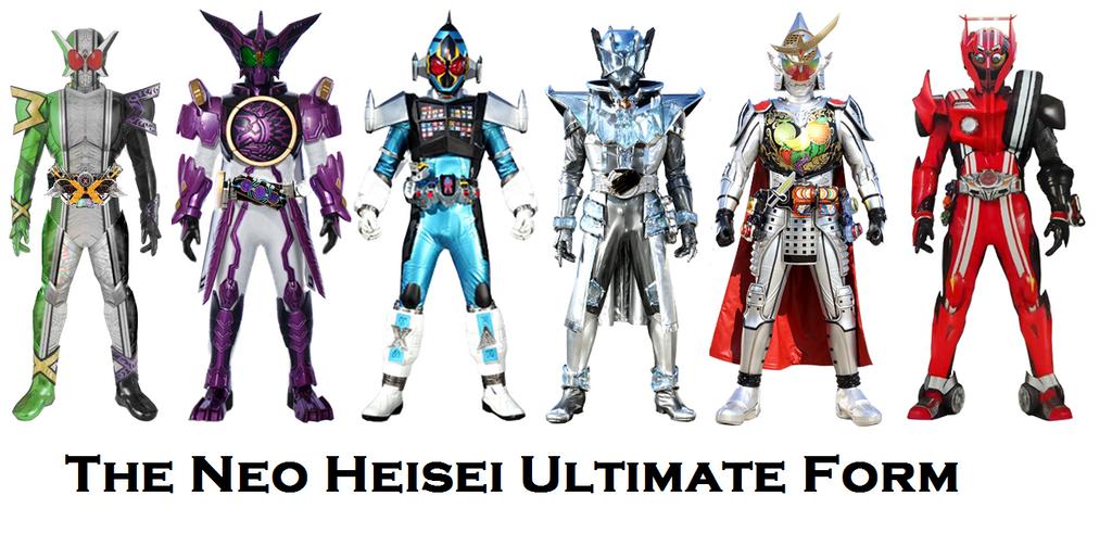 Neo Heisei Ultimate Form by Ruddyes on DeviantArt