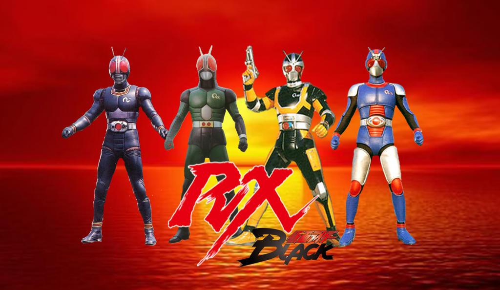 Kamen Rider Black RX By Ruddyes by Ruddyes on DeviantArt