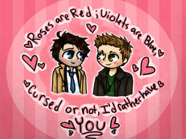 xX:Destiel~Valentine:Xx by edenfire57