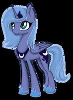 Young princess Luna by KeryDarling