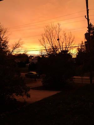 Evening Sky by RaivenFox