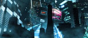 Blade Runner Still 4 by Miren2k