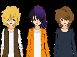 Kisekae Boy Hair Exports by NuclearJoji