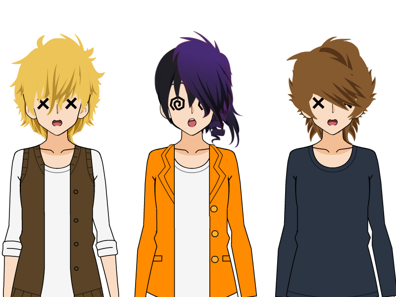 Kisekae Boy Hair Exports By Nuclearjoji On Deviantart