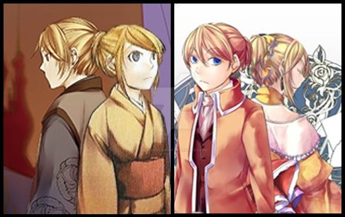 Ren and Rin + Allen and Riliane -Twins of Despair- by DueCopyCat009