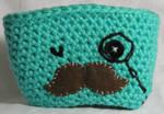Mustache Man Cup Cozy