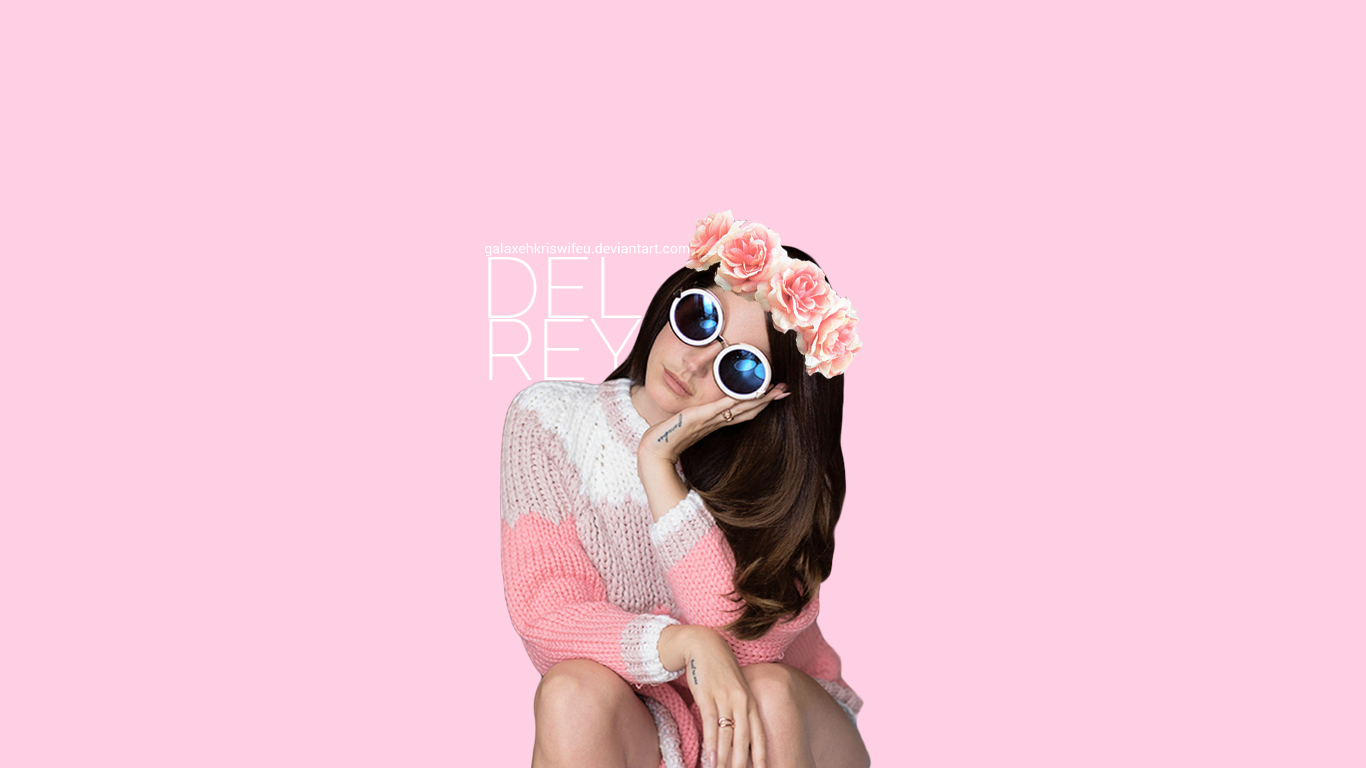 Lana Del Rey pastel wallpaper by GalaxehKrisWifeu on ...