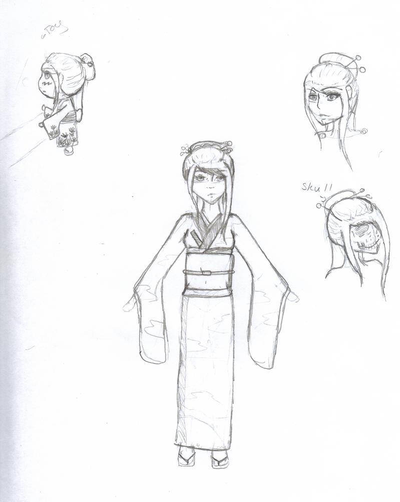 Hana by ECdragon