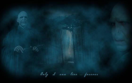Voldemort HP7 wallpaper