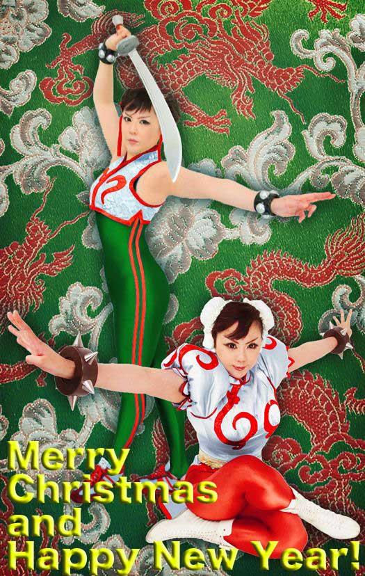 MerryChristmas and HappyNewYear! by Elin-Kuzunoha
