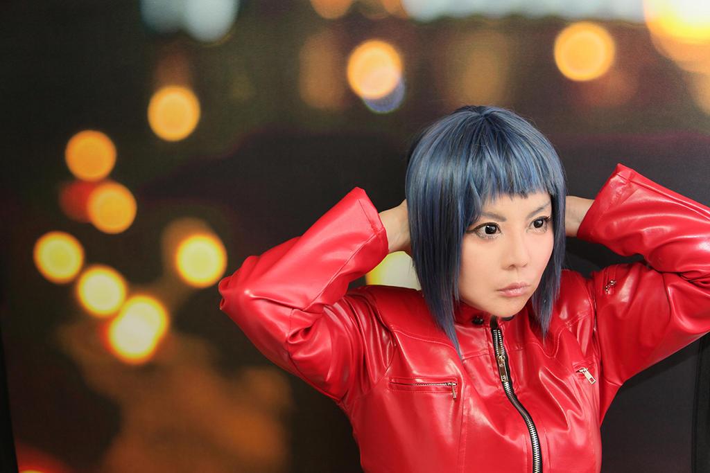 Motoko Kusanagi Cosplay photograph by Elin-Kuzunoha