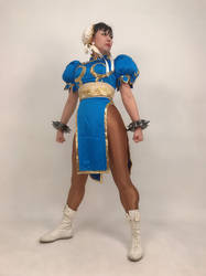 Chun_Li cosplay photograph