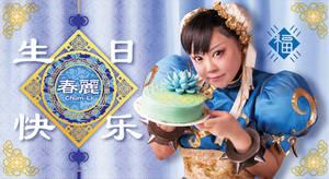 Happy birthday ChunLi!!!!