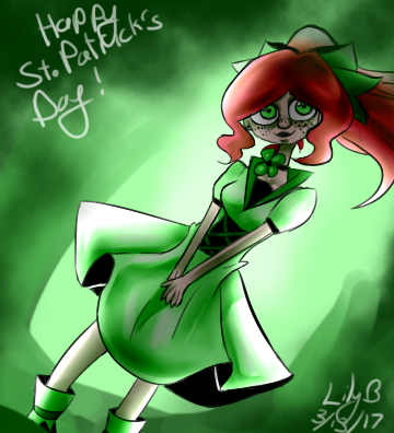 Happy St. Patrick's Day! by HikaruUzudragneel