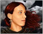 Sad Maiden by Giledhel-Narya