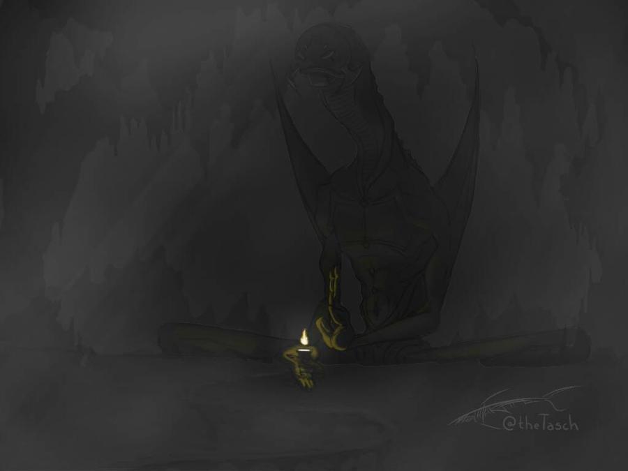 Shrine by Tasch-Draws