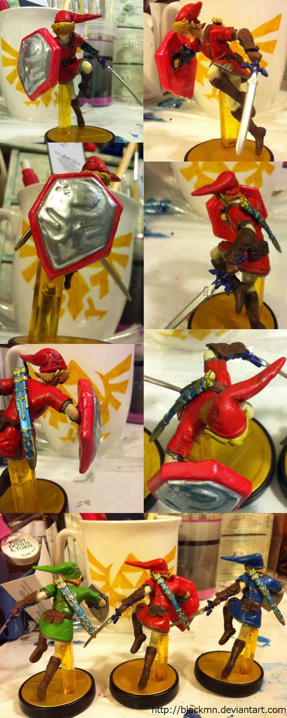 Custom Goron Tunic Link Amiibo