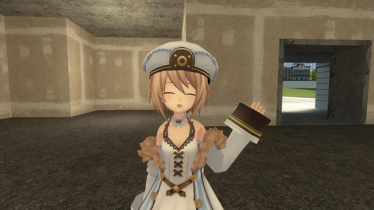 Blanc smile by Soulmourn