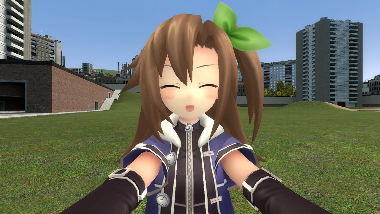 Iffy hugging you by Soulmourn