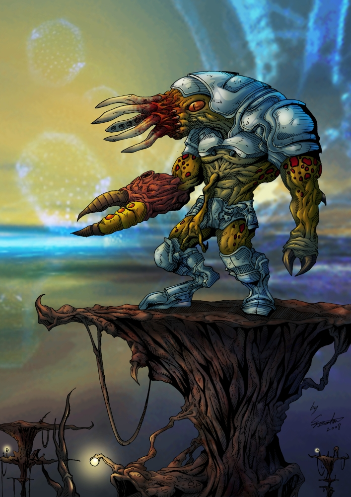 Bullsquid Grunt by ClaytonBarton on DeviantArt