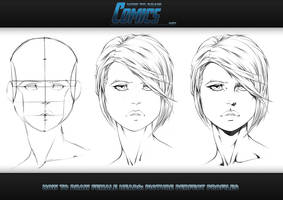 How to Draw Female Heads Picture Perfect Portraits by ClaytonBarton