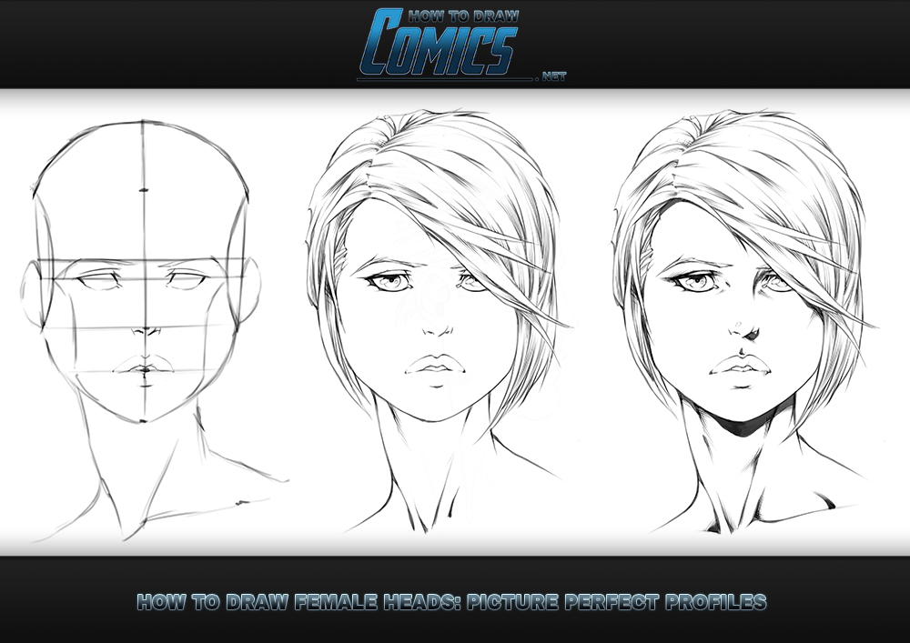 How to Draw Female Heads Picture Perfect Portraits by ClaytonBarton ...