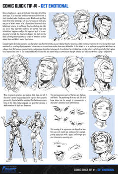 Comic Quick Tip 1 - Get Emotional