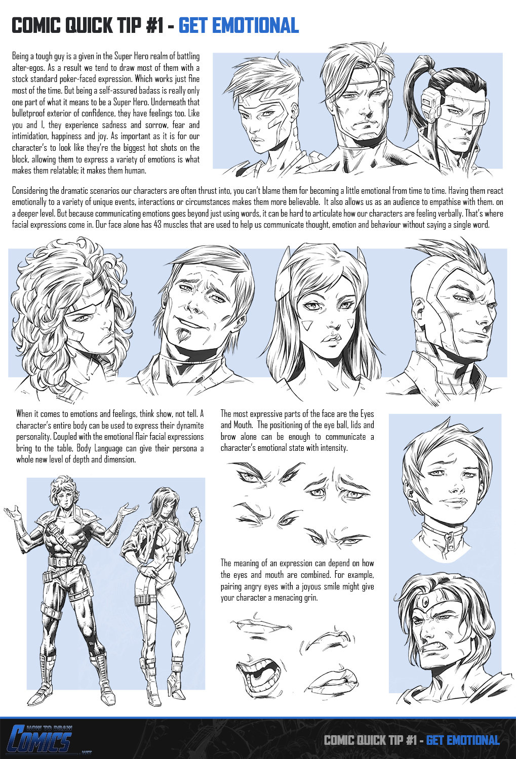 Comic Book Cover Tutorial Photo : Comic quick tip get emotional by claytonbarton on