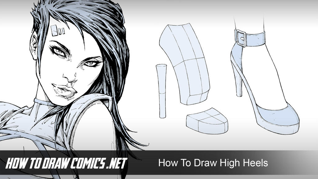 How To Draw High Heels by ClaytonBarton on DeviantArt