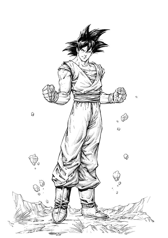 Dragon Ball Z - Son Goku (Kakarot) by ClaytonBarton
