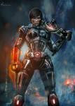 Alora Shepard   Mass Effect By Hidrico-d5ffth2