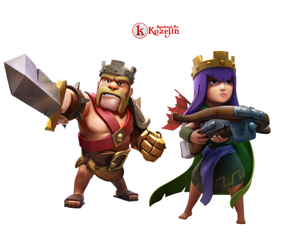 Clash Of Clans Archer Queen Png