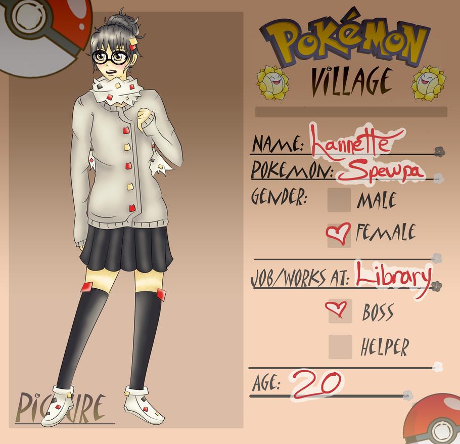 PV:: Lannette the Spewpa by Pokamo