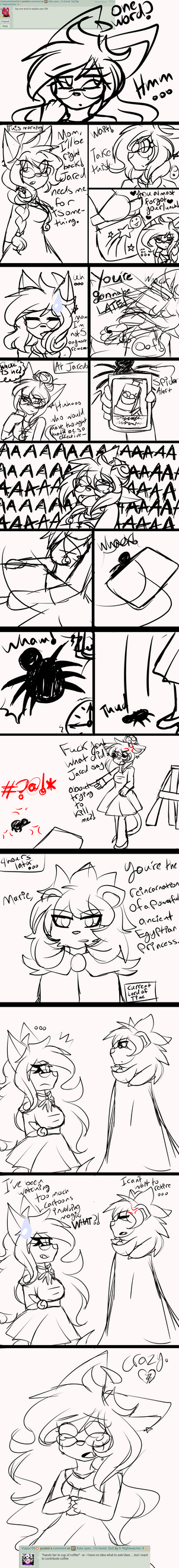 Ask Marie .:6 by X-Nightwatcher-X