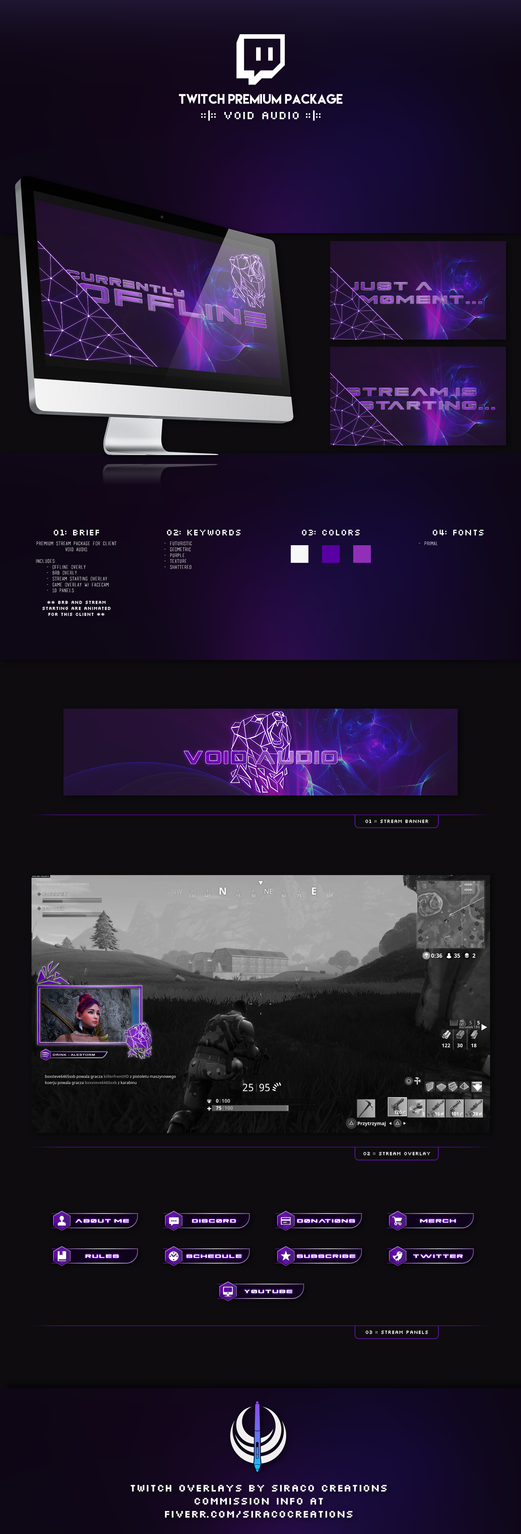 Void Audio - Premium Stream Package [Custom] by siraco-creations
