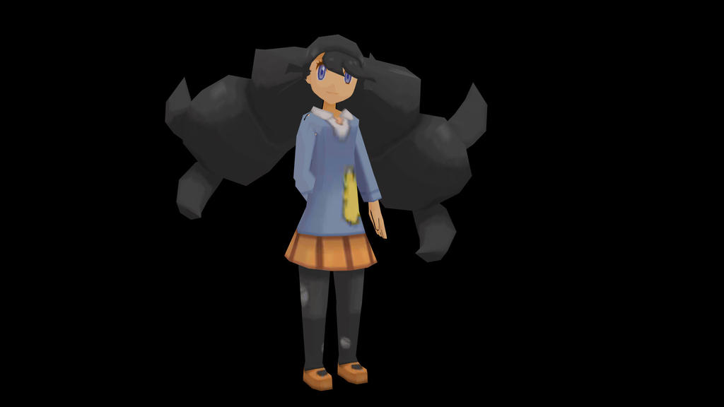 WIP] Pokemon XY Model: Emma by FreezyChanMMD on DeviantArt