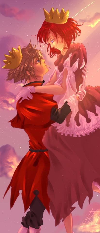 Kingdom hearts 3 sora and kairi king
